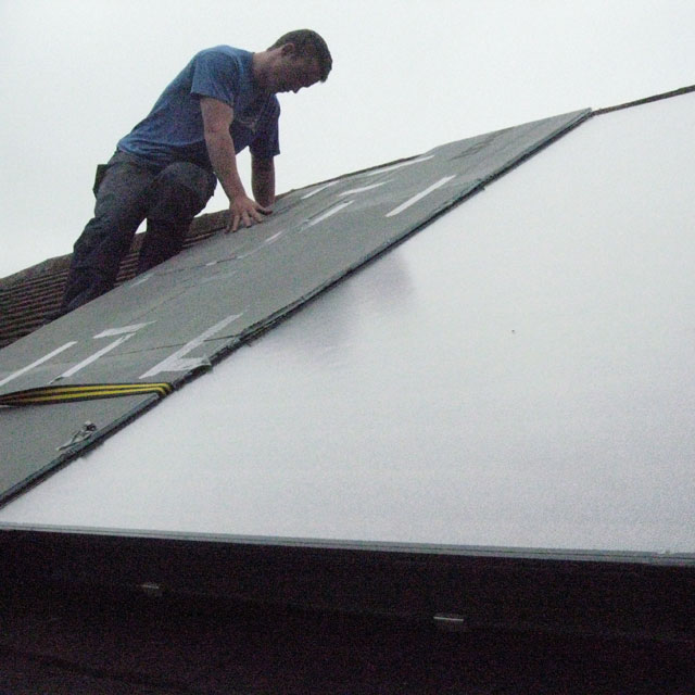 Peter Brown Solar Installation